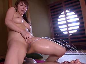 Asian cutie Shiori Kamisaki can't be satisfied with only one cock