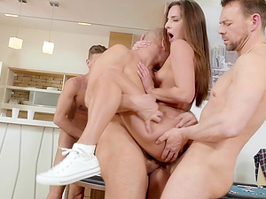Amirah Adara likes when more guys fuck her at the same time