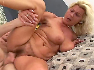 Mature Woman With Big Titties & Hairy Cootchie.