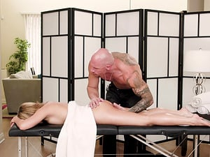 Sexy Moka Mora gets her cunt massaged with a big load of dick