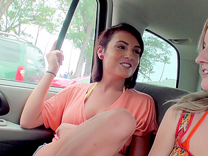 Nothing can please Skylar Green and her friend like getting fucked together