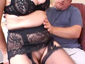 Trampy mature stunner gets her culo fucked and creampied