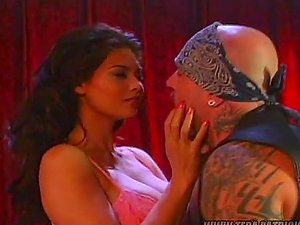 Spyder Jonez the sexy dark haired gets finger-tickled and fucked rough