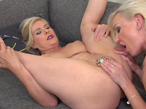 Marian Montana and her friend take turns at eating each other's cunts