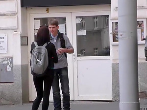 Czech slut picked up and fucked