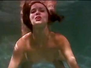 Beautiful redhead girl gets fucked underwater