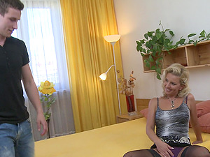 Lucky guy gets to experience Lucy Angel's fucking skills
