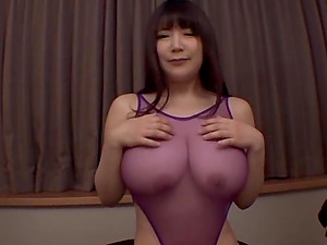 Sucking every inch of a hard cock makes Yuzuki Marina happy