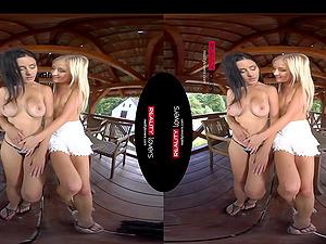 Licking Moms Pussy VR