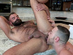 Drake Masters and Carlos Lindo enjoy orally pleasing each other