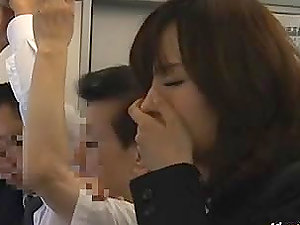 Japanese Chick Having Public Fuck-a-thon On The Bus.