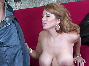 MILF MOM Sienna West facial after real horny sex with her friend