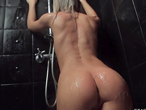 Beautiful russian amateur Darina in the shower