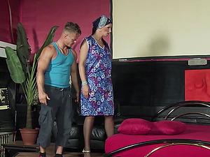 German MILF Sina Velvet fucked hard