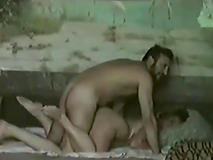 Russian guy gets his cock blown and gives quickie fuck to her neighbor girl