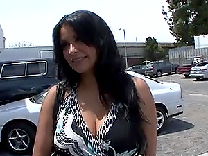 Dark haired mature Latina striped and pussy pounded hardcore