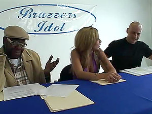 Brazzers Idol With Two Hot Stunners And A Hard Shaft