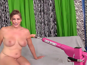 GILF Jade Blissette Drilled by a Machine