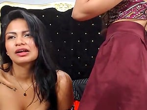 Latina Lesbians Naughty Team Up For Beautiful Fiend
