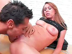 Hot Brynn Tyler gets fucked cowgirl and doggystyle