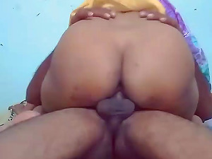 My sexy wife gets my dick deep in her slutty butthole.
