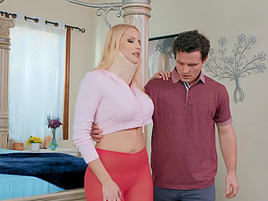 Mature sporty blonde whore Vanessa Cage fucked to get better