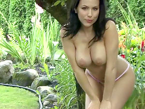 Katie Evan is a slender beauty with some nice tits