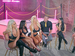 Hardcore live orgy with Bridgette B and many other pornstars