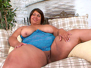 Mature ebony BBW Cherri Lust has her fat ass pounded hardcore