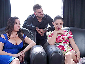 Inked Latina slut Abella Danger tied up and tortured by Dana Dearmond