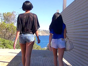 german 18yo skinny lesbian teen first time