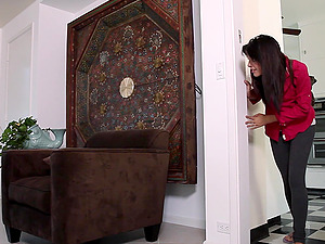 Lesbian pussy licking and fingering with Celeste Star and Jaslene Jade