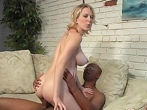 Sexy blonde Ruth Blackwell needs a big black dick in the morning