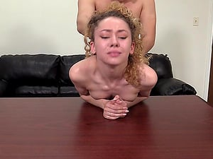 Before they have amazing sex on the desk Summer showed a wet pussy to her friend