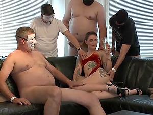 german creampie cumshot orgy with milfs