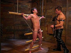 BDSM gives a new experience and sexual pleasure to gay Jordan Boss