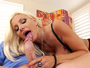 facial and cum in mouth are things that Brittany Andrews dreams every night