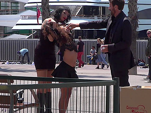 Mistress Minerva loves everything about humiliation and sex in the public