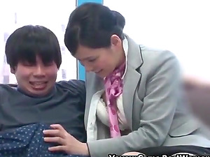 Japanese Teen Couple In Porn Games In Windows Room