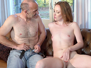 Before he destroys her cunt horny guy plays with Emma Fantasy's pussy