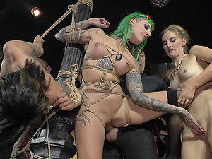 Bondage experience and role play are priceless for submissive Xavi Tralla