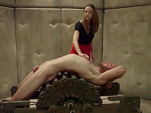 Bondage threesome and a role play is memorable for Chanel Preston