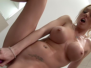 threesome with Lucy Belle and Stacey Saran is the best part of the day