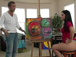 Sugary Lopez Paints a Masterwork with Her Phat Booty