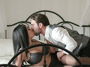deep and slowly fuck with fat dick is all that Aaliyah Hadid needs