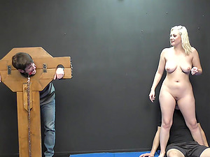 Facesitting and rough sex are fascinating with blonde Jenna Ivory