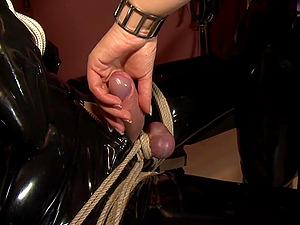 Patricia MedicalySado and her assistant Anna torture dudes balls