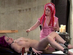 Cheri Rose Mort and Mistress Irony enjoy hardcore lesbian sex games