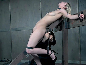 Bondage experience and a slave role are memorable for tied Sailor Luna