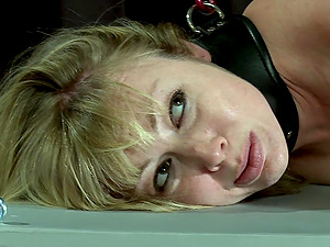 The pain and pleasure are favorite sex mix for horny Adrianna Nicole